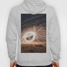 Woolspinning at the Beach Hoody