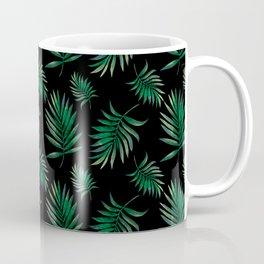 tropical palm leaves Coffee Mug