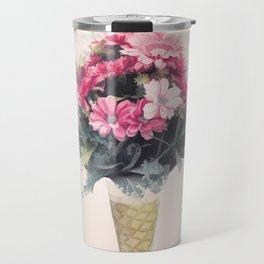 Flowers cornet Travel Mug