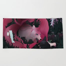 Spirits of the forest Beach Towel