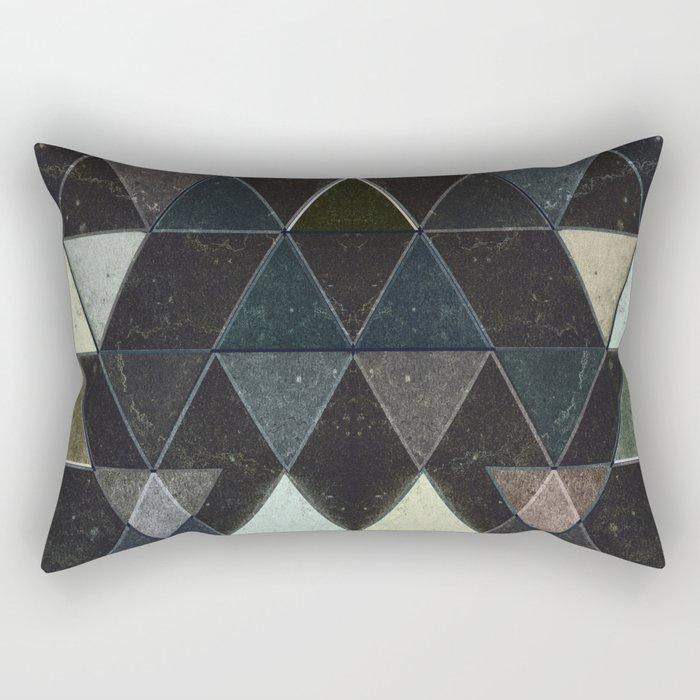 Triangles XXX Rectangular Pillow
