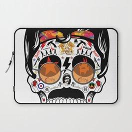 SKULL ROCK / Famous Musical Groups - Symbols - Digital Illustration Art - Pop Art - Wall Decor Laptop Sleeve