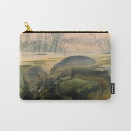Vintage Scientific illustration, c. 1880 (Manatees) Carry-All Pouch