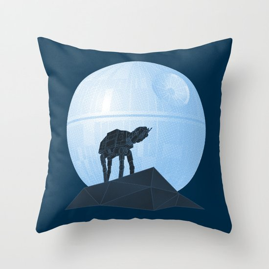 Howl at at the Moon Throw Pillow