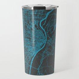 Saint Louis Map Travel Mug