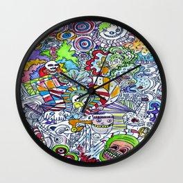 FUNHOUSE Wall Clock
