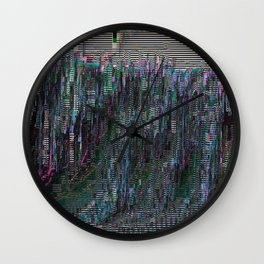 perfectly corrupted Wall Clock