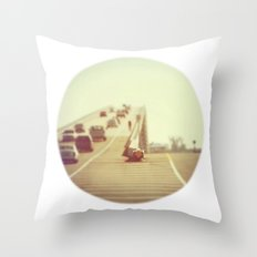 Fork in the Road Throw Pillow