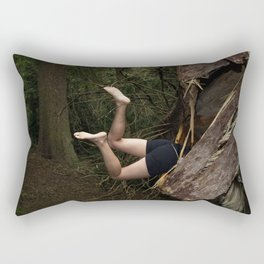 Don't go There, It's a Trap Rectangular Pillow