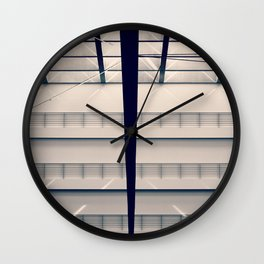 Berlin - Parliament on Vacation Wall Clock