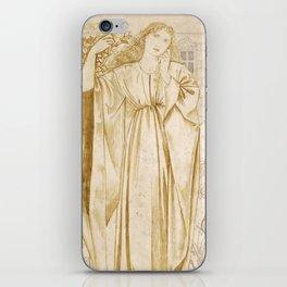 "Edward Burne-Jones ""Chaucer's 'Legend of Good Women' - Hypsiphile And Medea"" iPhone Skin"