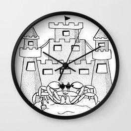Shovel Up Wall Clock