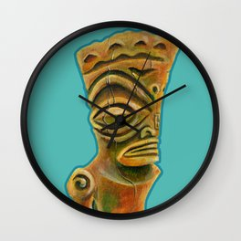 Marquesan East Wall Clock