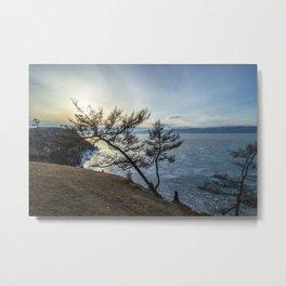 Harsh beauty of lake Baikal Metal Print