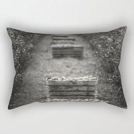 Weekend on an apple farm Rectangular Pillow