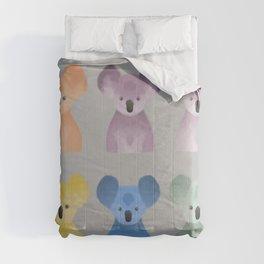 Gummy koala bears Comforters