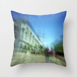 Ferry Building Throw Pillow