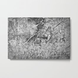 Abstract grey concrete Metal Print