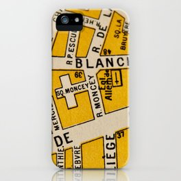 All About Paris I iPhone Case