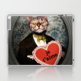 Je t'aime - Kitty Love Laptop & iPad Skin