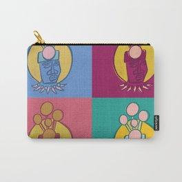 UrbanNesian Pop Art Samoan Taupou Carry-All Pouch