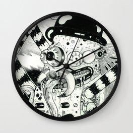 araña metalera Wall Clock