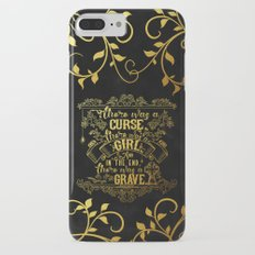 Beautiful Creatures - Grave - Gold Foil iPhone 7 Plus Slim Case