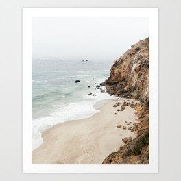 Malibu Dream Art Print