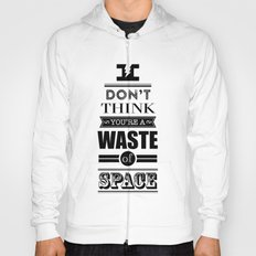 HP Quotes - Deathly Hallows Hoody