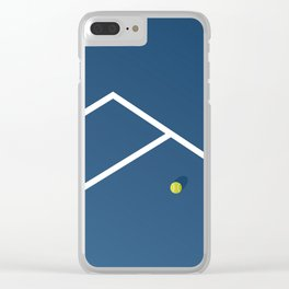 Tennis Court: Australia Clear iPhone Case