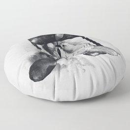 Music Painter Floor Pillow