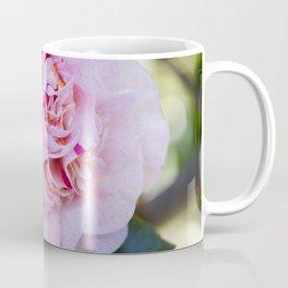 Strawberry Blonde Camellia Bloom Coffee Mug