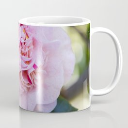 Strawberry Blonde Camellia Bloom Coffee Mug
