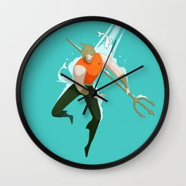 With the fishes Wall Clock