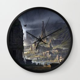 La Cite perdue Wall Clock