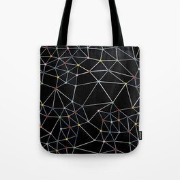Seg with Color Spots Tote Bag