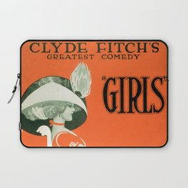 Girls by Clyde Fitch Laptop Sleeve