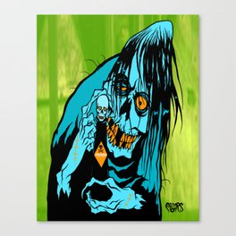 VILE FIEND Canvas Print