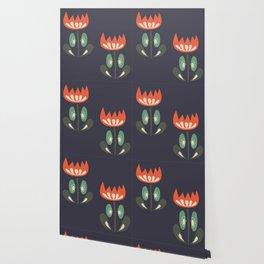 Scandinavian Wildflowers Wallpaper