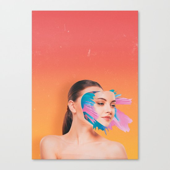 All Out Of Bubblegum Canvas Print