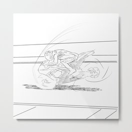 Cycle Endo - MotoGP Metal Print
