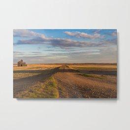 Grain Elevator 22 Metal Print