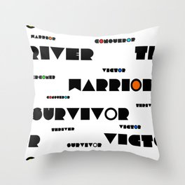 Christian Soldier Throw Pillow