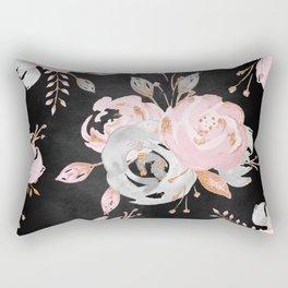Night Roses 2 Rectangular Pillow