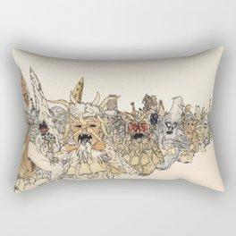 Koukeri (Mummers) Rectangular Pillow