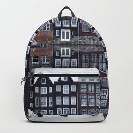 Amsterdam houses 1. Backpack