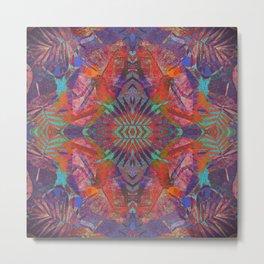 Weaving Colors Metal Print