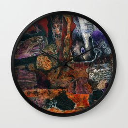 Seen and Unseen Wall Clock