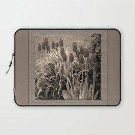 old timey tulips (square) Laptop Sleeve