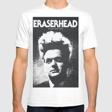 ERASER HEAD - DAVID LYNCH - CINEMA POSTER Mens Fitted Tee White MEDIUM